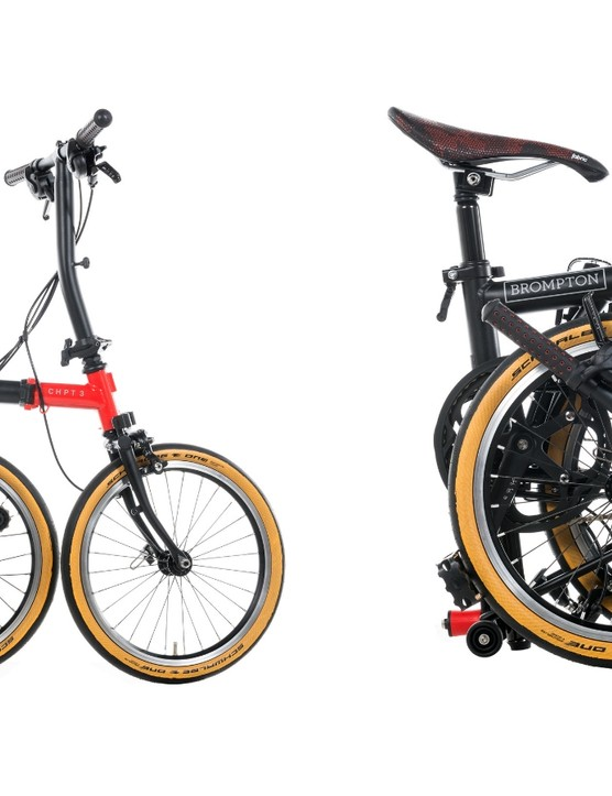 While it carries a bit more style than its siblings, it's undeniably recognisable as a Brompton