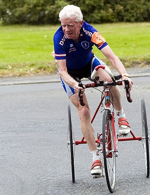 Jim Hopper on the trike