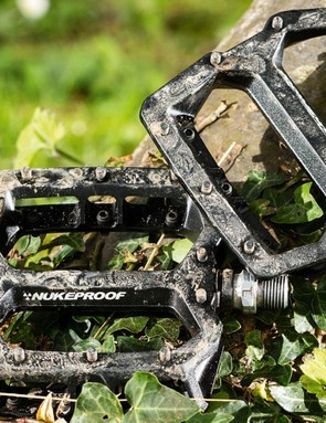 Nukeproof's Horizon pedals are a great all-round flat option