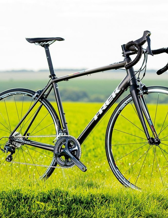 The Trek Émonda ALR6 is very lightweight and comparable to some carbon frames
