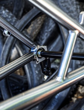 Neat details, such as the chainstay and seatstay bridge are common place on Cotic bikes