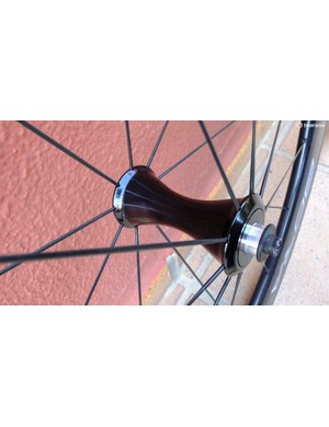 The Bora WTO 60's slimmed front hubs have USB ceramic bearings
