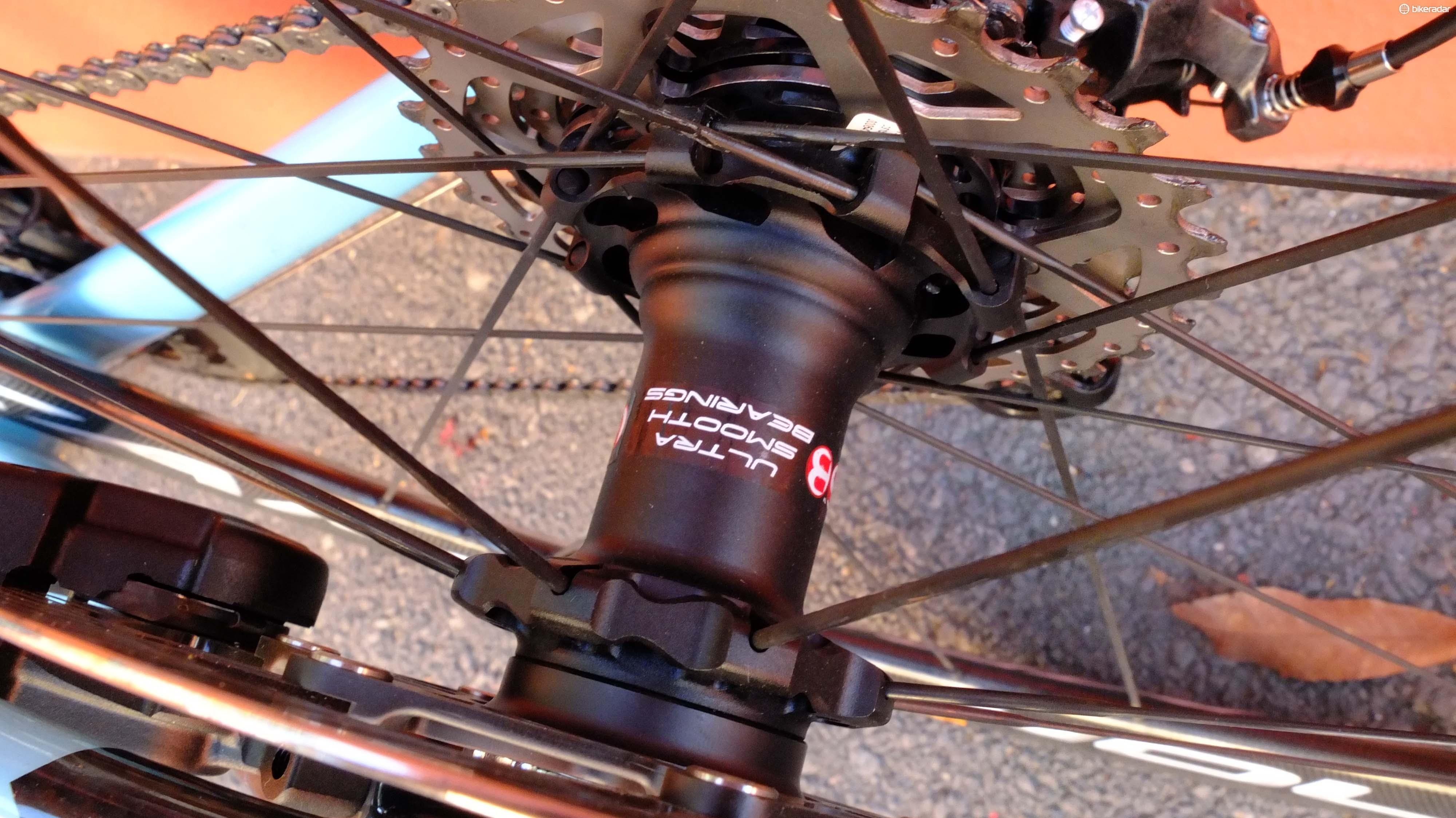 All the new Bora wheelsets come with USB ceramic bearings as standard