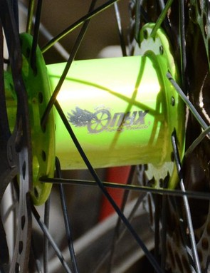 Onyx's wonderfully silent hubs provided the spin