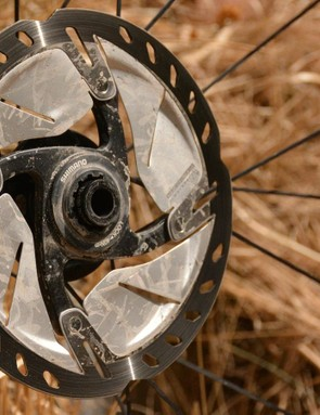 Centerlock is a superior way of disc rotor attachment. Thank you, Shimano