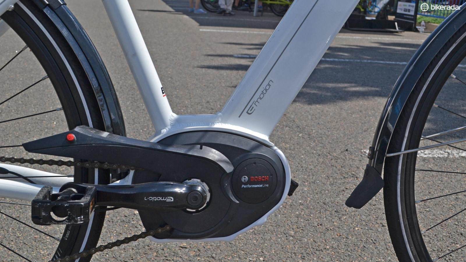 Bosch is one of the most commonly specced motors on urban and hybrid bikes