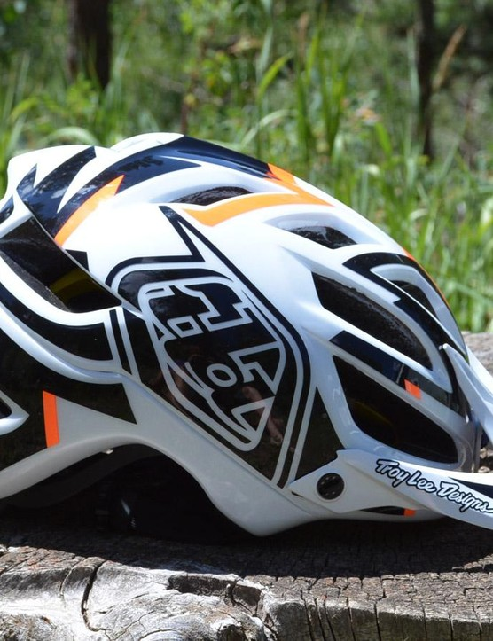 Troy Lee Designs' A1 helmet might be the most comfortable helmet I've worn