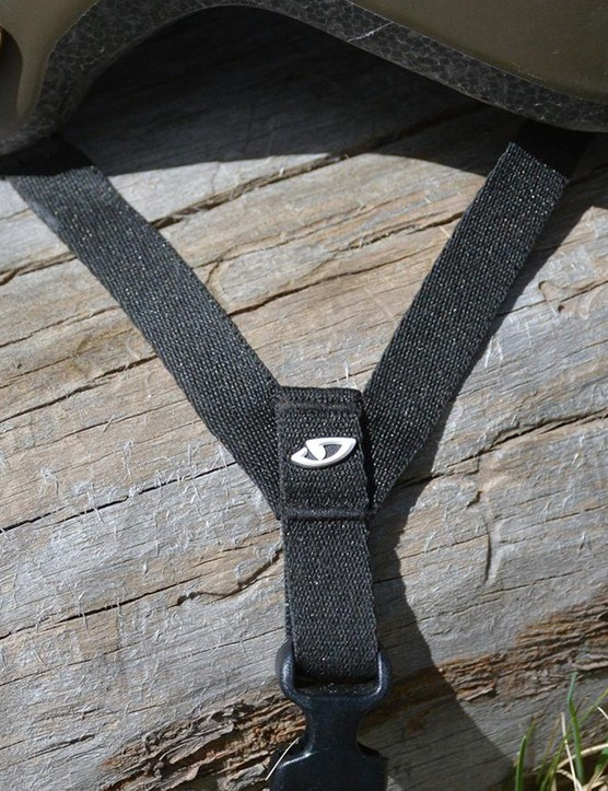 The straps aren't adjustable, and it doesn't matter one bit