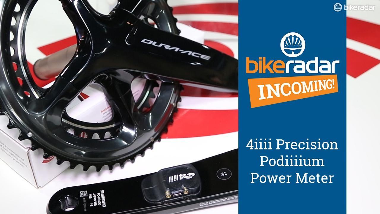 The Precision Podiiiium is 4iiii's latest and greatest power meter