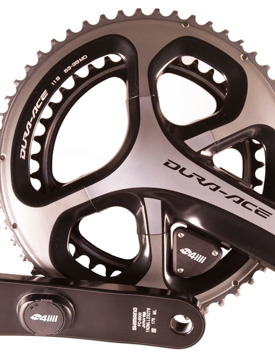 4iiii Precision Pro dual-sided meter can be bought on new cranks like this, or installed on your own cranks