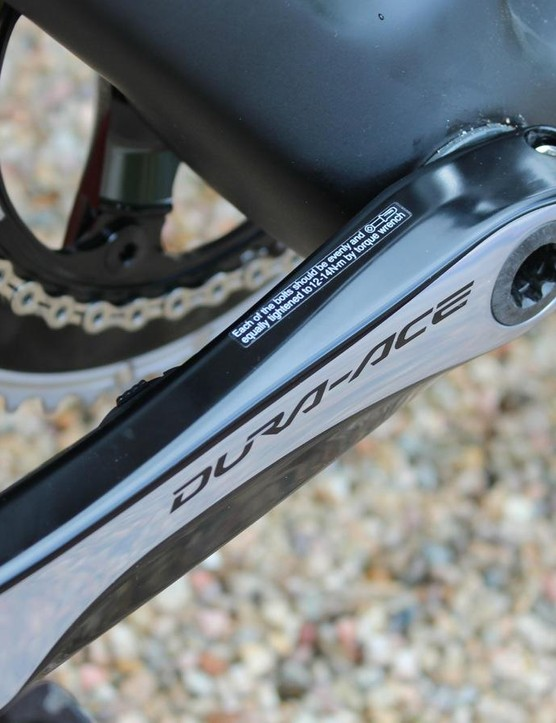 Precision can be purchased on a new Shimano 105, Ultegra or Dura-Crank, or installed on an existing model
