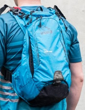 USWE uses a unique shoulder harness for extra stability