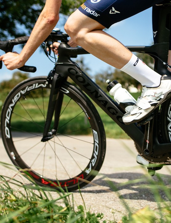 The Campagnolo Bora Ultra 50s handle better in gusty conditions than one might suppose
