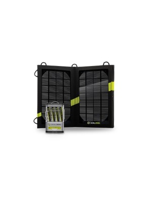 The Guide 10 Plus Adventure Kit is an ultra-lightweight USB and solar-charging system, designed to be portable