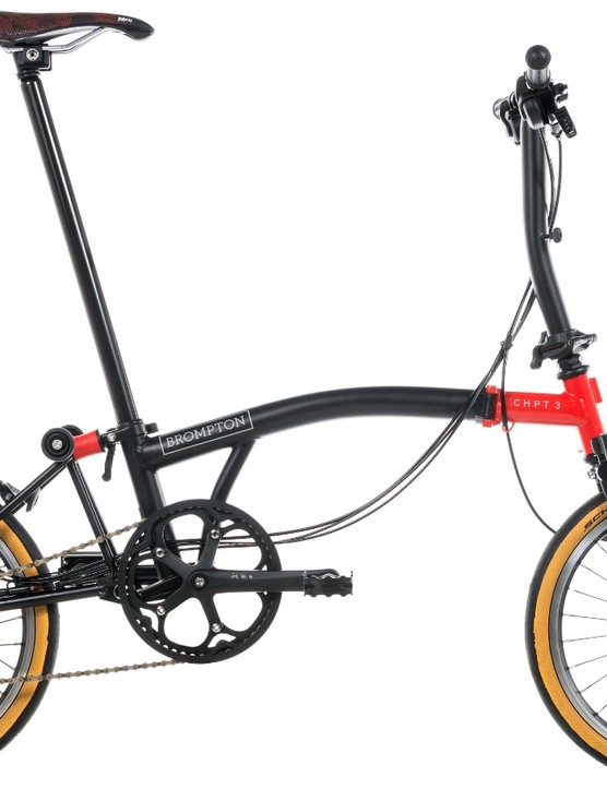 The new Brompton X CHPT3 combines British engineering with Girona's race heritage