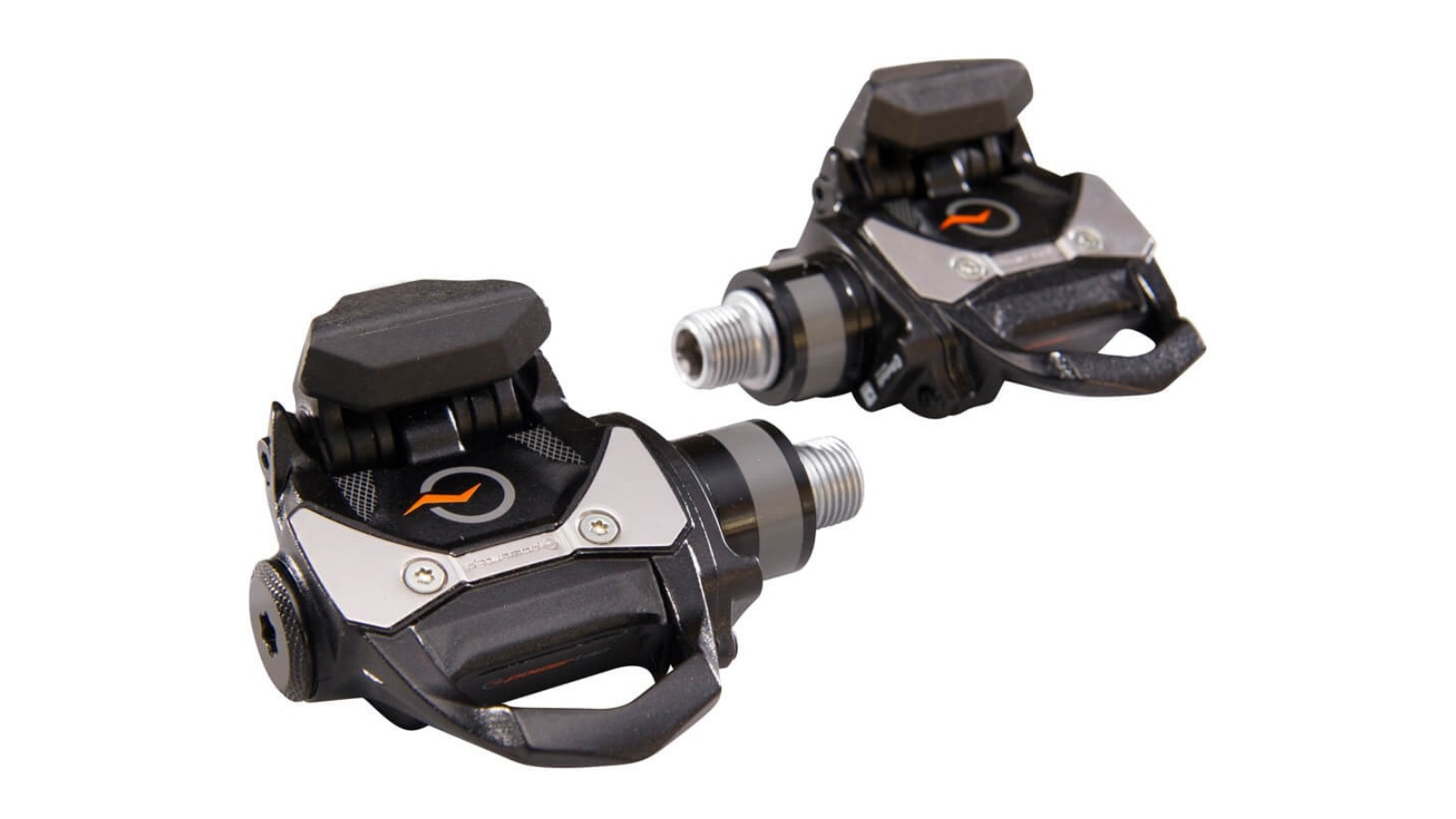 The Powertap P1 dual-sided power meter installs like any other pedal