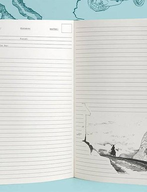 This beautiful Cycling Travel Journal is the perfect place for them to store their favourite memories