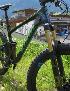 Fox's Float 34 fork keeps the front end obeying orders