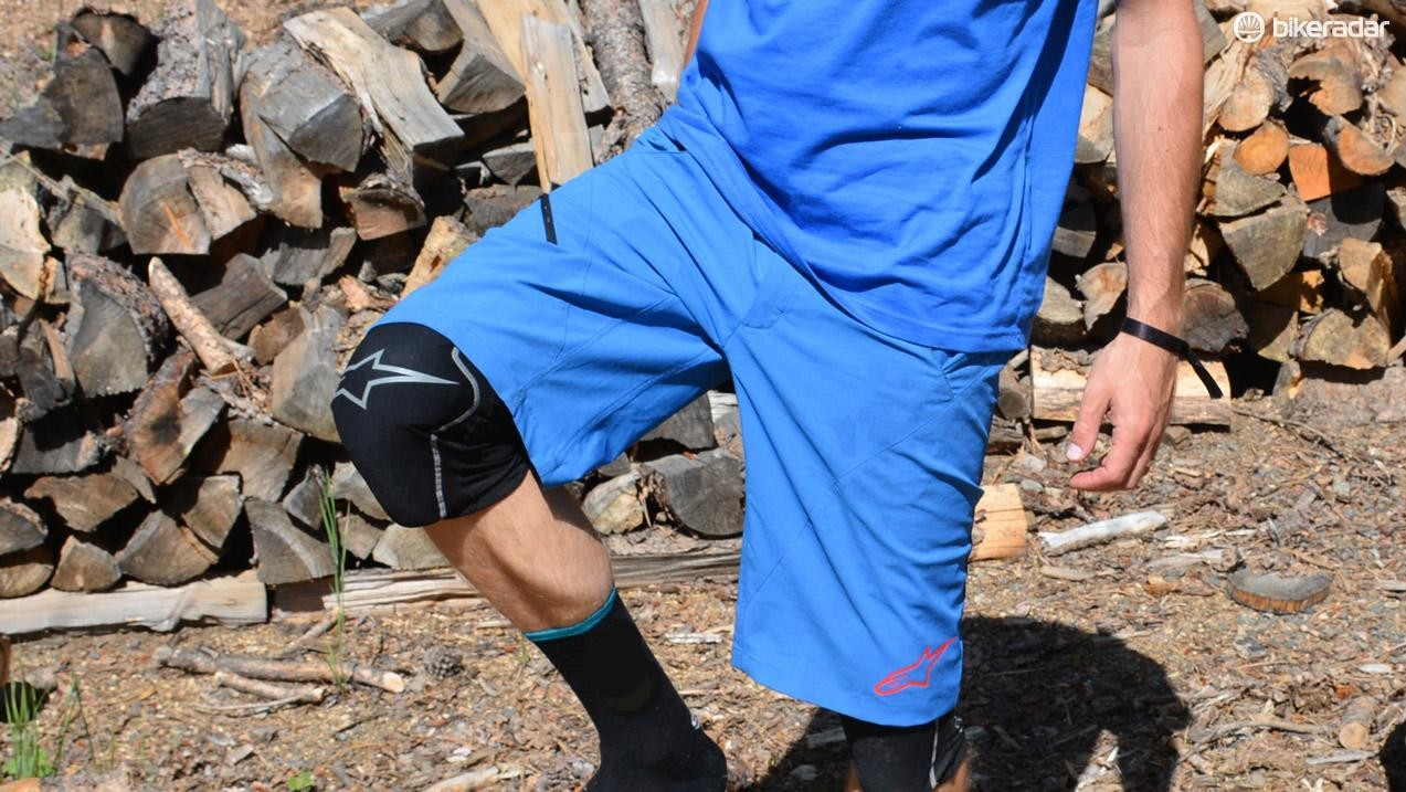 Knee pads or not, Alpinestars' Pathfinder shorts fit and pedal beautifully