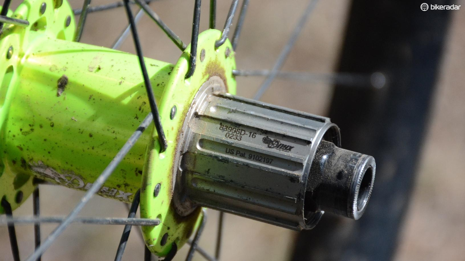 While a little dirty the freehub is decidedly bite free and the cassette came off smoothly