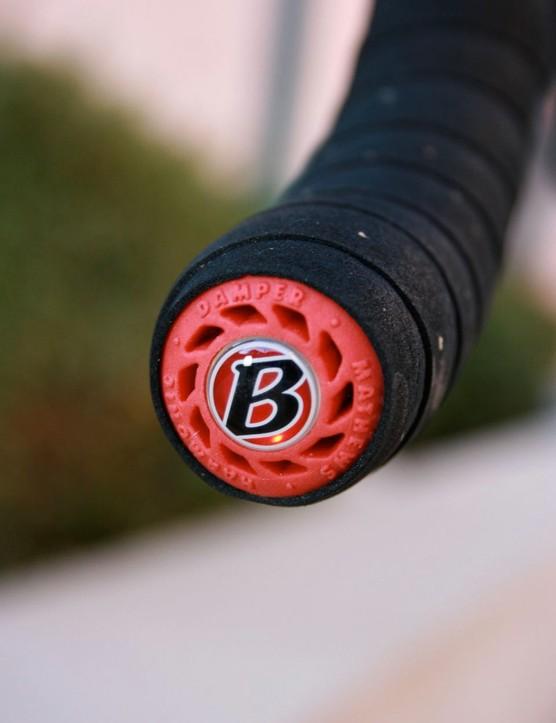 Bontrager Buzzkill bar-end plugs keep road vibration minimized.