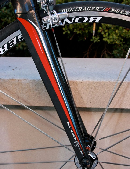 Trek's new tapered and all-carbon fork.