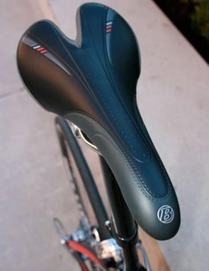 The Bontrager saddle.