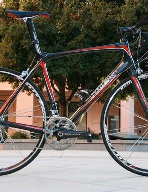 The Trek Madone 5.5 carbon road bike.