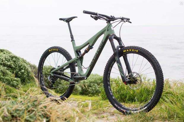 Santa Cruz and Chris King have teamed up to create a limited edition of the 5010 trail bike