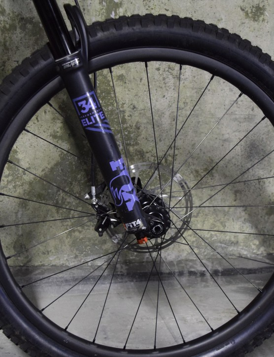 While we're testing the 5010 with regular 27.5 wheels, you can opt for a plus build