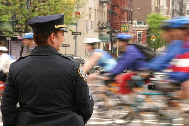 Cycling in New York has doubled since 2002