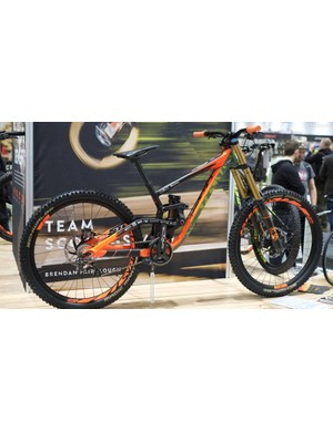 Brendog's Gambler is a true beast, view it for yourselves at the Scott Bikes stand