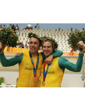 Shane Kelly and Ryan Bayley will spearhead the Australian track team