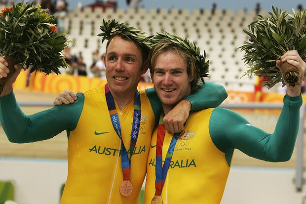 Shane Kelly and Ryan Bayley will spearhead the Australian track team