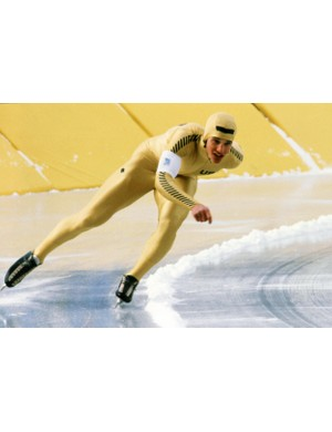 American speed skater Eric Heiden won five gold medals at the 1980 Winter Olympics in Lake Placid, New York.