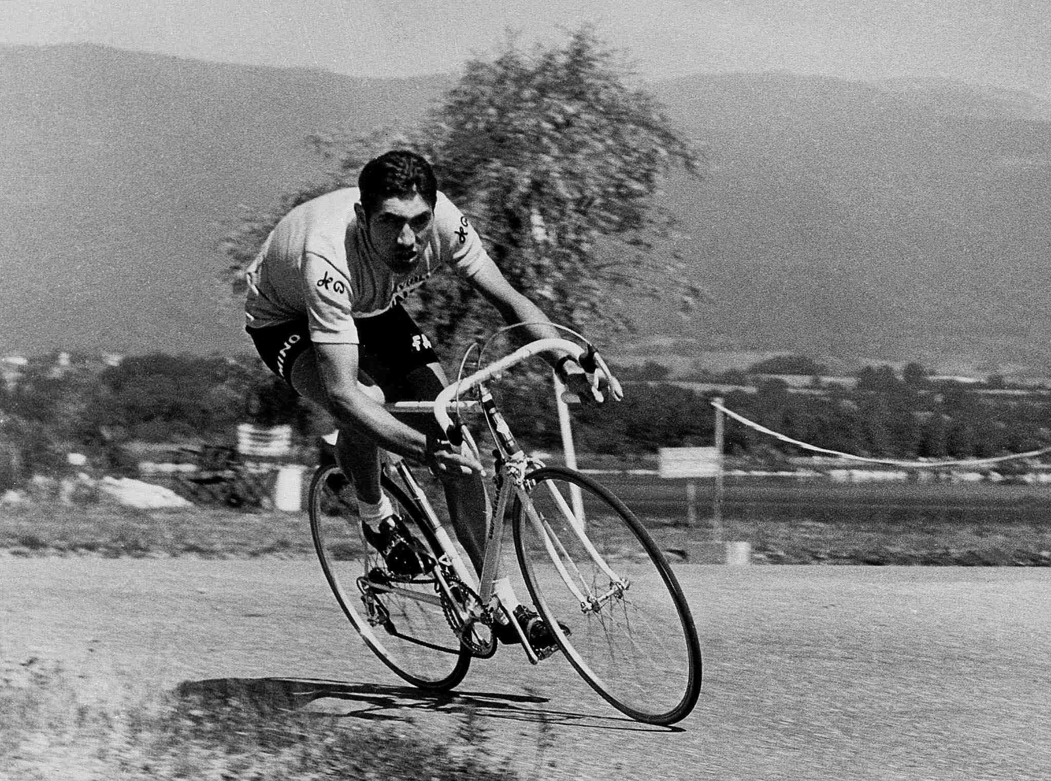 Eddy Merckx, king of them all (1970 file photo).
