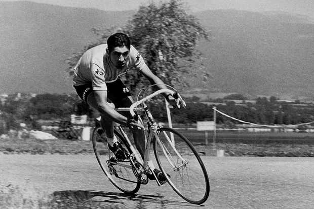 Eddy Merckx, king of them all (1970 file photo).