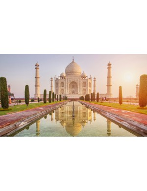 The Taj Mahal is one of the wonders of the world