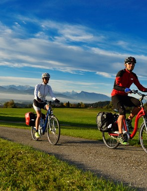 E-bikes can be ridden by anyone, young or old