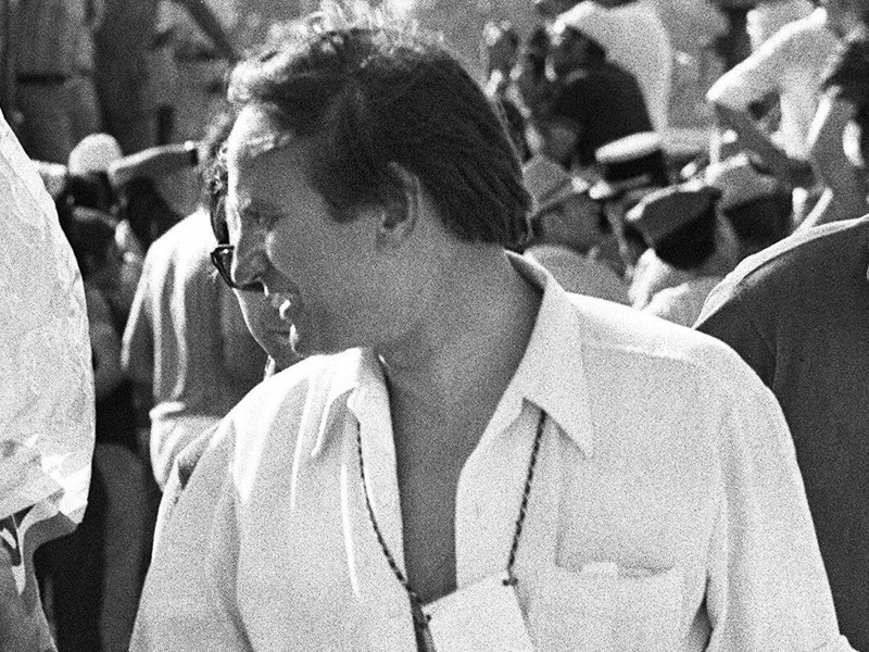 A photo of Bernard Sainz, taken in 1971