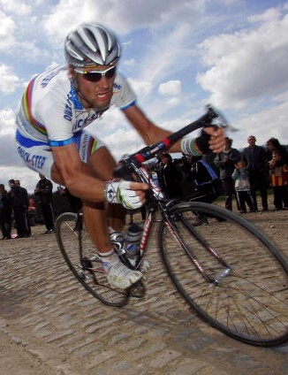 Tom Boonen, denied a second victory in 2006.