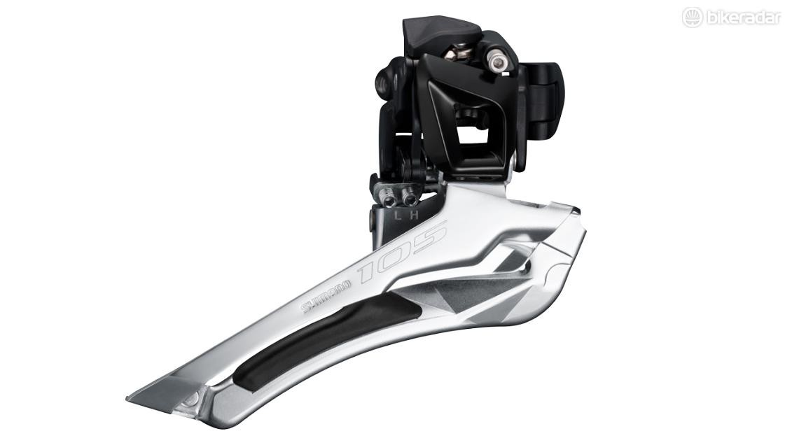 The FD-5801 front derailleur may be a sign of things to come