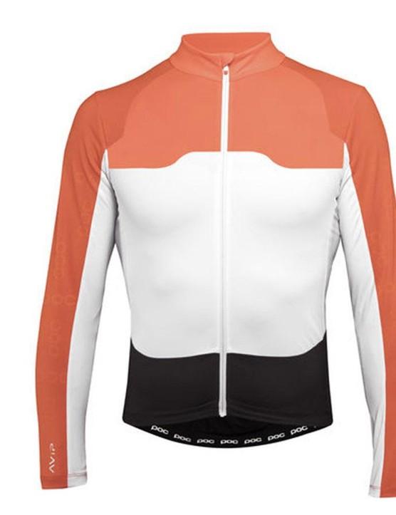 The long sleeve version of the POC AVIP Ceramic jersey