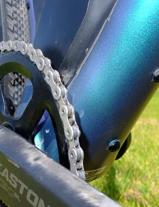 There's also a third bottle cage location beneath the down tube