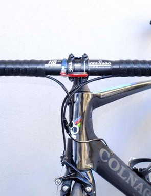 The Record mechanical rim brake levers look to have a slightly more pronounced inward curve