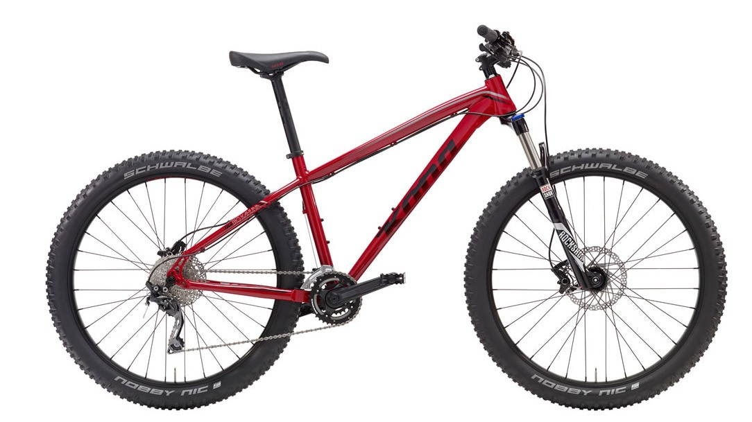 The Big Kahuna lives up to its name with fat 27+ Schwalbe rubber