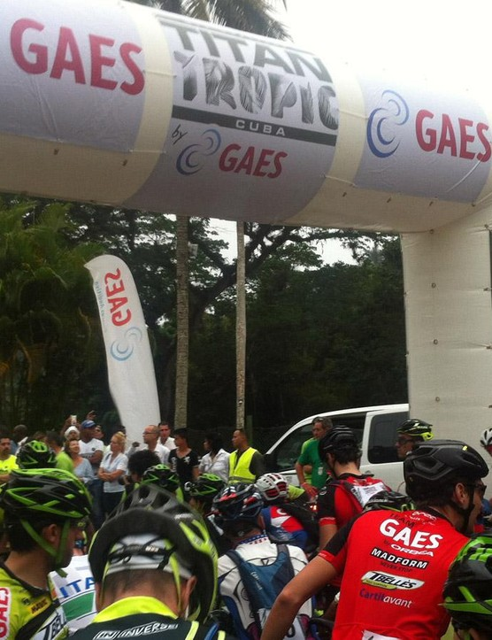 Every stage started at 8.00AM sharp with a neutral lead out of camp