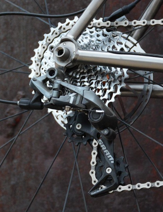 SRAM's Force 1x11 takes care of the ratios