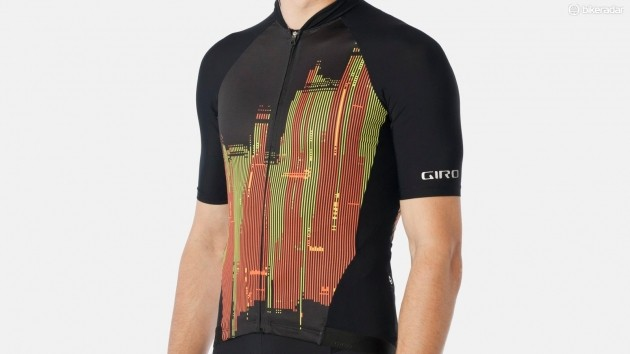 The Giro Chrono Pro jersey comes in three styles