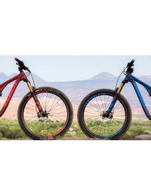 29-inch vs 27.5+ wheel comparison